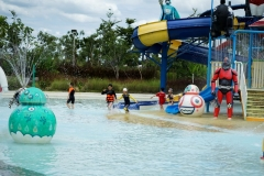 Tube Trek Water Park With Group C (G3-4)-06537